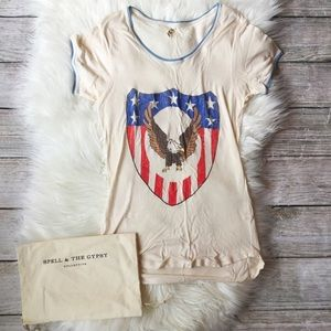 Spell & The Gypsy Collective Tops - Captain America Spell & the Gypsy Tee